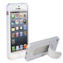 SD Smart Stand Case for iPhone 5 - White