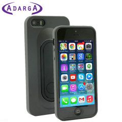 SD Smart Stand Case for iPhone 5S / 5 - Black