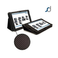 SD Stand and Type Case for Kindle Fire HD 2012 - Carbon