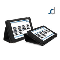 SD Stand and Type Case for Kindle Fire HD - Black