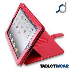 SD TabletWear Advanced iPad 3 / iPad 2 Case - Red