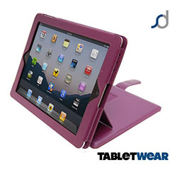 SD TabletWear Advanced iPad 4 / 3 / 2 Case - Purple