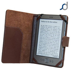 SD TabletWear Book Case for Amazon Kindle / Kindle Touch - Brown