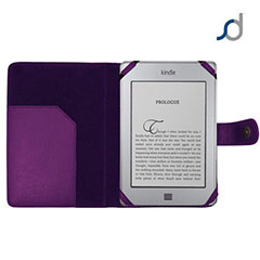 SD TabletWear Leather Style Book Case for Amazon Kindle Touch - Purple