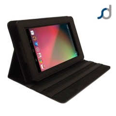 SD TabletWear LuxFolio Case for Google Nexus 7 - Black