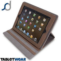 SD TabletWear LuxFolio iPad 4 / 3 / 2 - Brown
