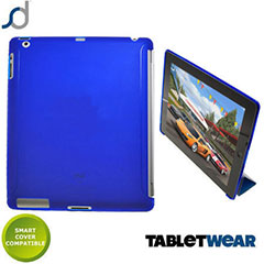 SD TabletWear SmartCase for iPad 4 / 3 / 2  - Dark Blue