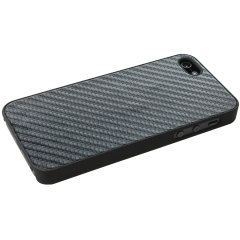 SD Ultra Slim Carbon Case For iPhone 5 - Black