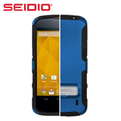 Seidio Dilex Case for Google Nexus 4 with Kickstand - Blue