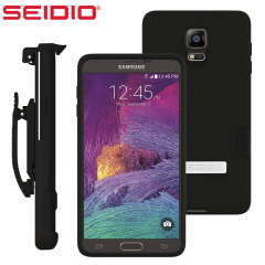 Seidio DILEX Pro Combo Samsung Galaxy Note 4 Holster Case - Black