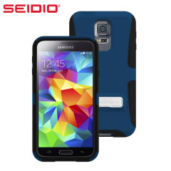 Seidio DILEX Samsung Galaxy S5 Case with Kickstand  - Blue