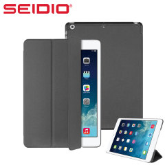 Seidio LEDGER Flip Case for iPad Air - Dark Grey