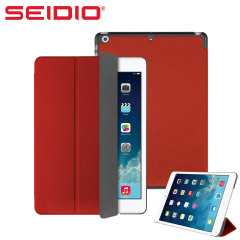 Seidio LEDGER Flip Case for iPad Air - Red