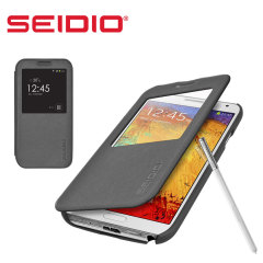 Seidio LEDGER View Case for Samsung Galaxy Note 3 - Grey
