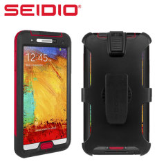 Seidio OBEX Combo Case for Galaxy Note 3 - Black / red