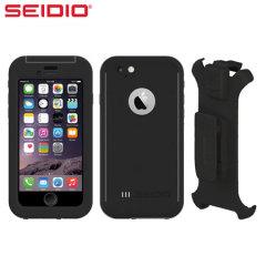 Seidio OBEX Combo iPhone 6 Waterproof Case - Black / Grey