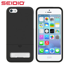 Seidio Surface Case with Metal Kickstand for iPhone 5C - Black