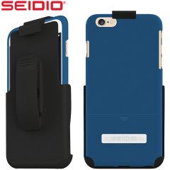 Seidio SURFACE Combo iPhone 6 Plus Case - Blue