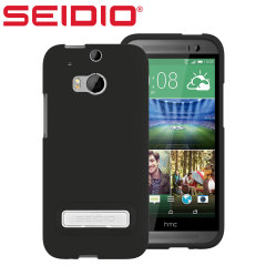 Seidio SURFACE HTC One M8 Case with Metal Kickstand - Black