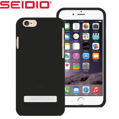 Seidio SURFACE iPhone 6S / 6 Case with Metal Kickstand - Black
