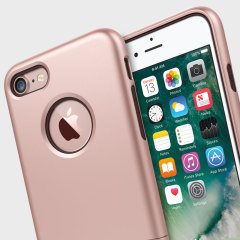 Seidio SURFACE iPhone 7 Case & Metal Kickstand - Rose Gold