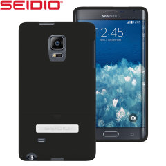 Seidio SURFACE Samsung Galaxy Note Edge with Metal Kickstand - Black