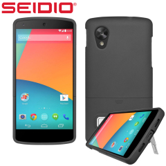Seidio SURFACE with Metal Kickstand for Nexus 5 - Black