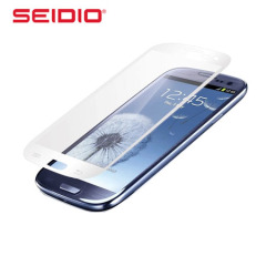 Seidio Vitreo Glass Screen Protector for Samsung Galaxy S3 - White