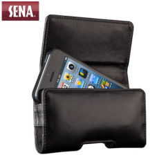 Sena iPhone 5S / 5 Magnetic Holster Pouch Case - Black