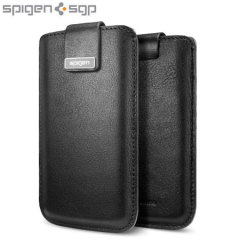 SGP iPhone 5 Crumena Leather Pouch - Black