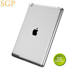 SGP Skin Guard for iPad 2 - White Leather