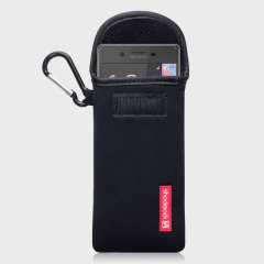 Shocksock Sony Xperia X Neoprene Carry Case - Black