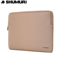 Shumuri Macbook Protective Padded Sleeve 13 Inch - Gold
