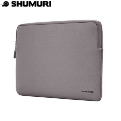 Shumuri Macbook Protective Padded Sleeve 15 Inch - Grey
