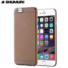 Shumuri The Slim Extra iPhone 6S Plus / 6 Plus Case - Smoke Grey