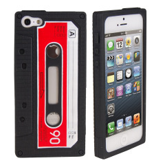 Silicone Case for iPhone 5 - Cassette
