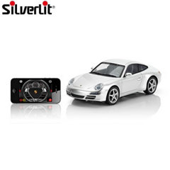 Silverlit Porsche 911 Apple App Controlled Car - Silver