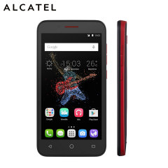 SIM Free Alcatel Onetouch Go Play Waterpoof Smartphone - Black