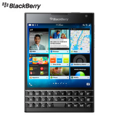 SIM Free Blackberry Passport 32GB - Black