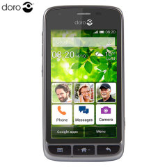Sim Free Doro Liberto 820 Mini Unlocked - Black/Silver