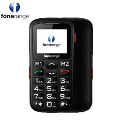 Sim Free Fonerange Basic Friendly Big Button - Black