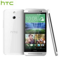 SIM Free HTC One E8 Dual Sim - 16GB - Polar White