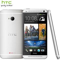 SIM Free HTC One M7 Dual SIM - Silver