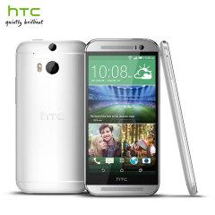 SIM Free HTC One M8 - 32GB - Glacial Silver