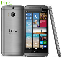 SIM Free HTC One M8 for Windows - 32GB - Gun Metal Grey