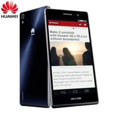 SIM Free Huawei Ascend P7 16GB - Black