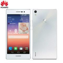 SIM Free Huawei Ascend P7 16GB - White