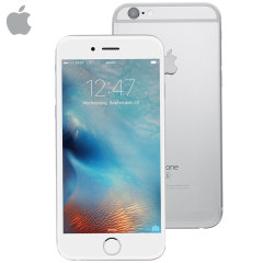 SIM Free iPhone 6S Unlocked - 16GB - Silver