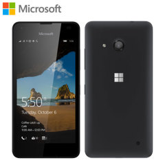 SIM Free Microsoft Lumia 550 Unlocked - 8GB - Black