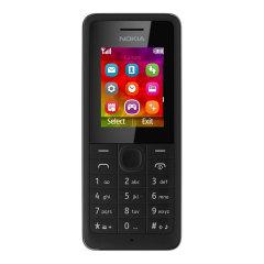 Sim Free Nokia 106 - Black
